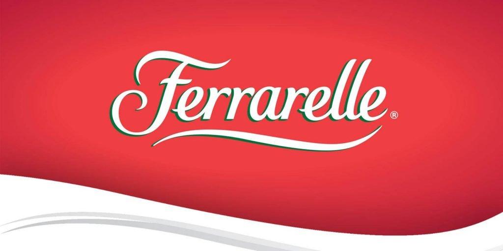 il logo delle pubblicità ferrarelle